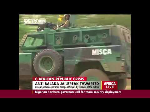 Anti-Balaka Jailbreak Thwarted