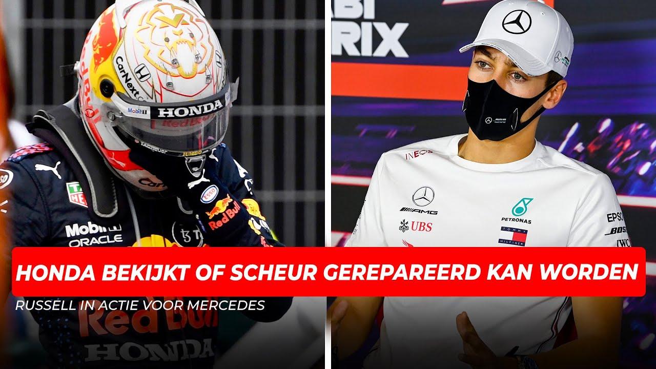 Russell in actie voor Mercedes, Honda bekijkt of motor Verstappen gerepareerd kan worden | GPFans