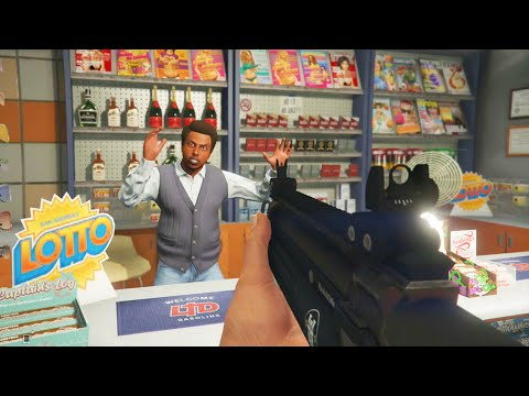 GTA 5 KOP CITY #1 - The Insane Store Robbery (GTA V Online)