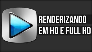 Tutorial Sony Vegas - Como Renderizar em HD 720p e 1080p
