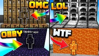 I AM STONE CHALLENGE! - (BEST MINECRAFT I AM STONE TROLLING MOMENTS!)