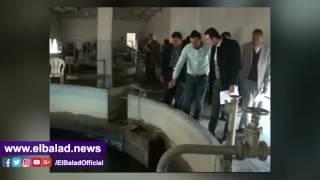الرقابة الإدارية بالغربية تشن حملة على محطات مياه الشرب بطنطا.. فيديو وصور