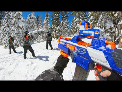 Nerf War: Winter Battle