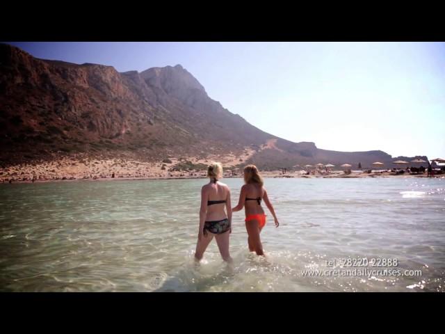 BALOS / GRAMVOUSA  by  Cretan Daily Cruises !!