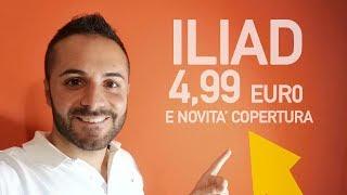 ILIAD: nuova offerta e qualche novità sulla copertura