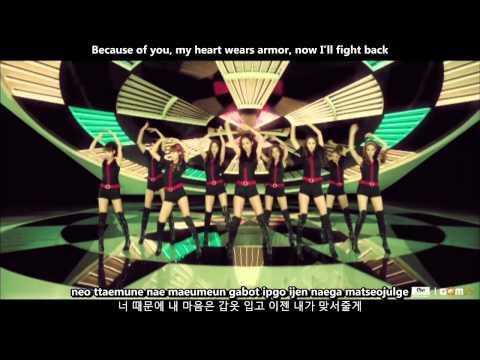 SNSD (Girls' Generation) - Hoot MV [English subs + Romanization + Hangul] 720p