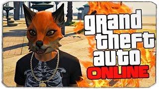 GTA ONLINE: Животные грабят людей!