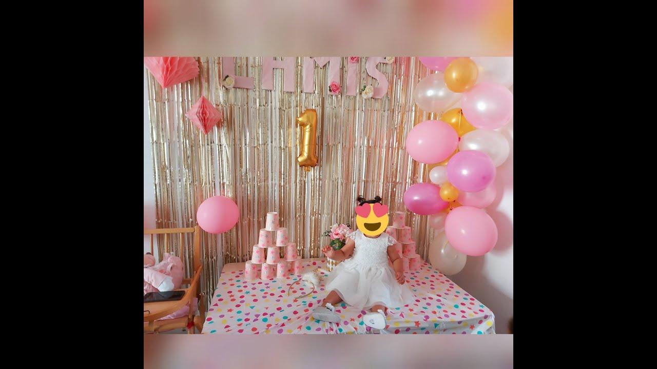 حفلة عيد ميلاد ابنتي حبيبتي لميس ❤️🎉🎂،هدايا الحفلة🛍️ واش طيبت لعشا 🤫 anniversaire de ma fille