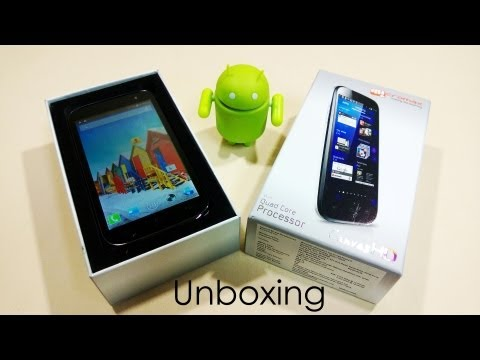 Micromax Canvas HD A116 - Unboxing and Hands on - Cursed4Eva.com