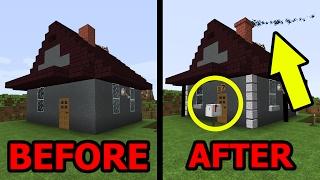 Wie Baut Man Ein Animiertes Redstonehaus In Minecraft Minecraft - Minecraft hauser verbessern