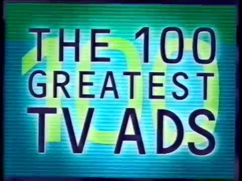 100 Greatest TV adverts (Channel 4 2000) pt 1 - 100 to 61