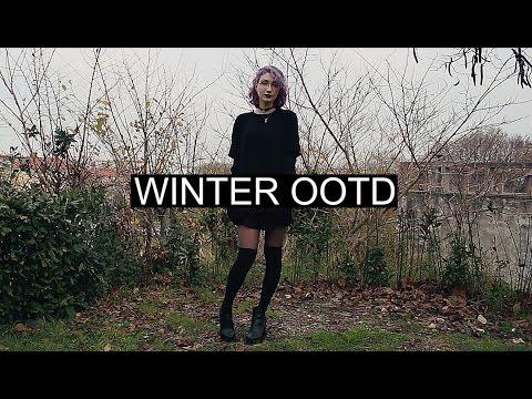 winter ootd 2015 knee high socks youtube. Black Bedroom Furniture Sets. Home Design Ideas