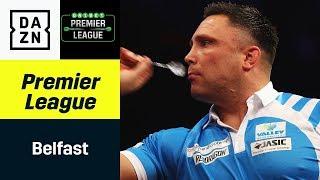 Krimi! Gerwyn Price mit zwei Matchdarts gegen Michael van Gerwen | Premier League of Darts | DAZN