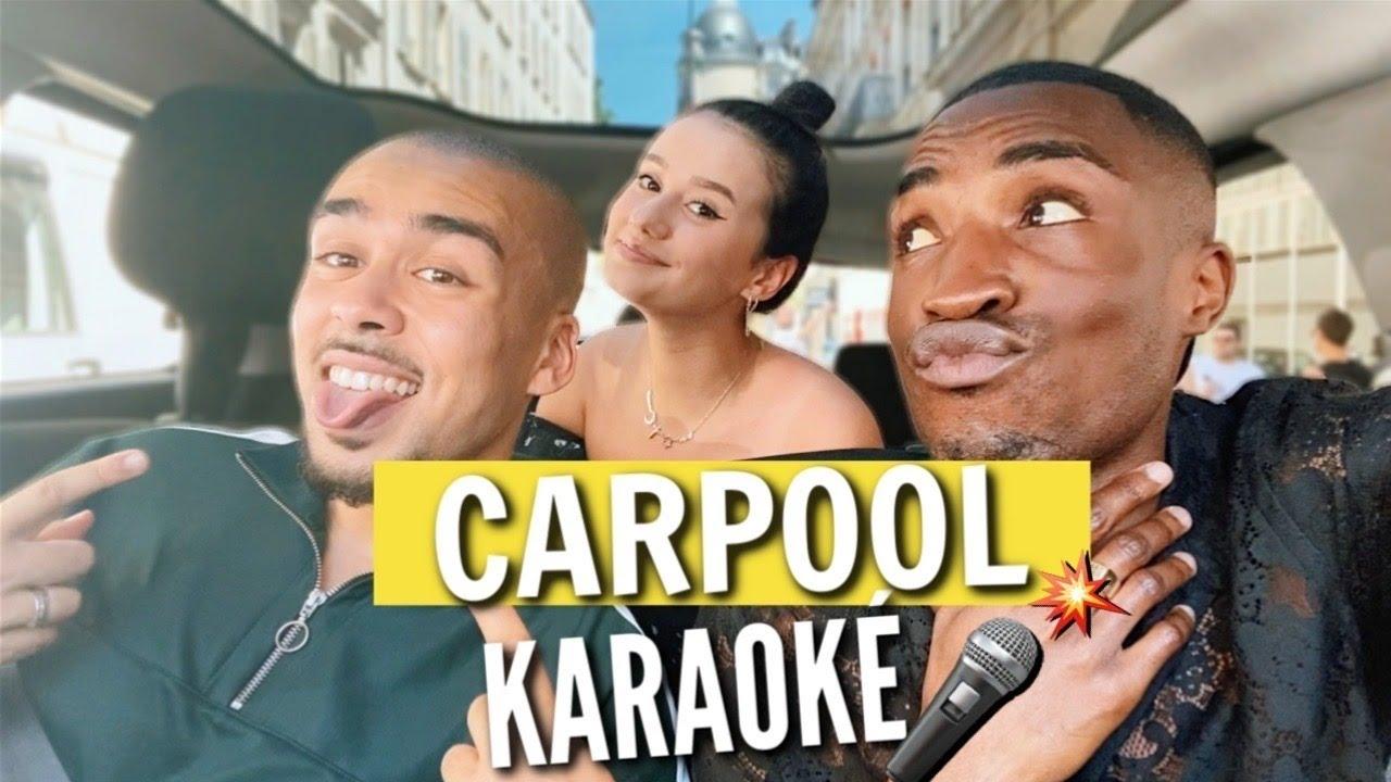 CARPOOL KARAOKÉ - @JohanPapz & @LisaPapz