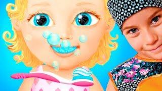 КУКОЛЬНЫЙ ДОМИК МАЛЫШКИ игровой мультик ВИДЕО ДЛЯ ДЕТЕЙ детская игра TutoTOONS