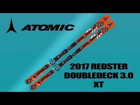 2017 Atomic Redster Doubledeck 3.0 XT Ski Test with Wolfgang Mayrhofer and Ron Kipp