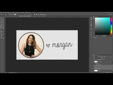 How To Create An Email Signature Image In Photoshop