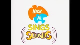 Nick Jr Sings Music Video - Sounds (w/ Face intro) [DVD QUALIT…