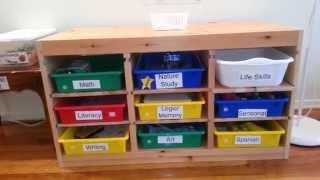 ShelfWork: Preschool Learning Shelf