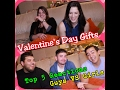 Reactions to Top 5 Valentine's Day Gifts Guys VS Girls