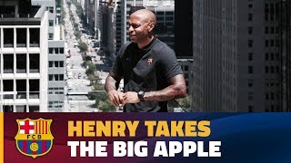 INSIDE TOUR | A day with Thierry Henry in New York