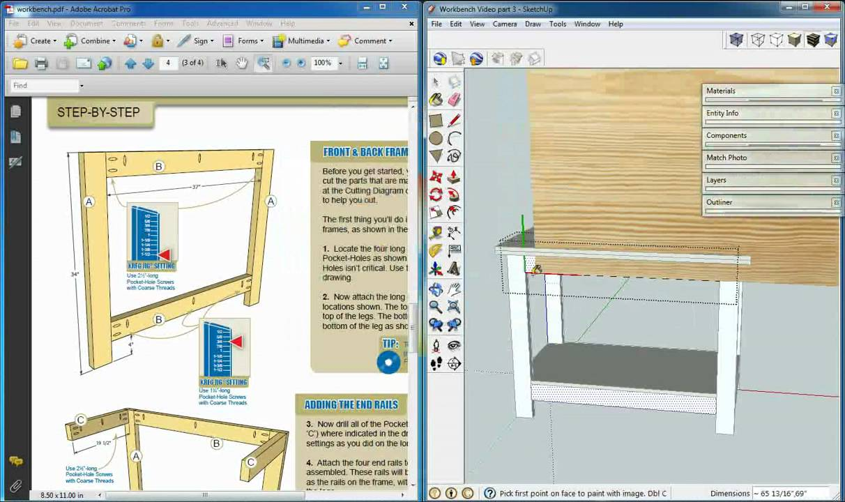 how to add a texture in sketchup