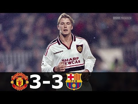 🔥 Манчестер Юнайтед - Барселона 3-3 - Обзор Матча Лиги Чемпионов 16/09/1998 HD 🔥