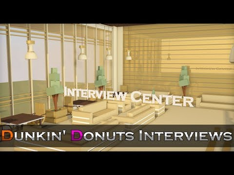Dunkin' Donuts Interview Center | How To Pass!
