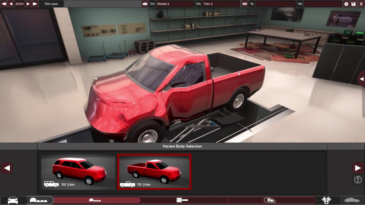 Building A 2004 Celeron As A Car In Automation (the car company tycoon game)
