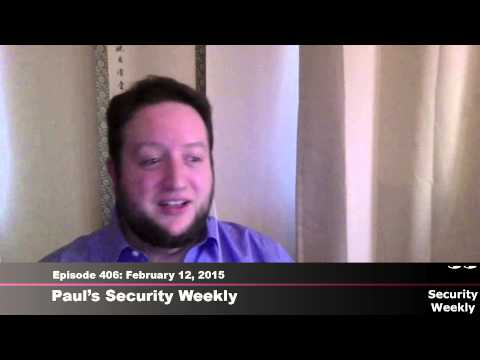 Security Weekly #406 - Interview With Deivant Ollam