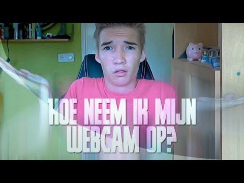 TUTORIAL: Hoe neem ik mijn webcam op?