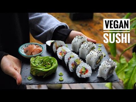 HOW TO MAKE SUSHI | Avant-Garde Vegan