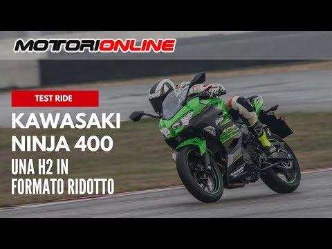 Kawasaki Ninja 400 2018 | Test ride  (pista, strada)