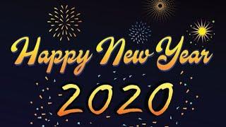 سنة سعيدة 2020 happy new year 2020 bonne année 2020