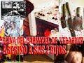 Reina del Carnaval de Veracruz, Golpeo, Quemo y Desmembró A sus 2 Hijos (Evangelina Tejera)