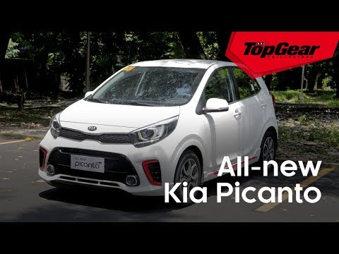 The Kia Picanto is now a cute little hatch