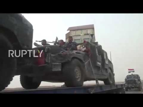 Iraq: Govt. forces bring in reinforcements for Mosul offensive
