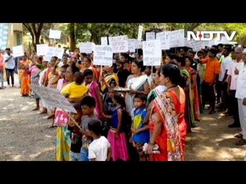 Mumbai: आदिवासियों ने चिड़ियाघर बनाने का किया विरोध प्रदर्शन