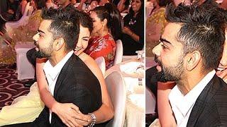 Anushka sharma hugging virat kohli in public | new bollywood movies news 2015