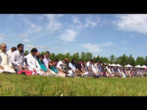 Muslims Celebrate Eid Al-Adha In Toronto