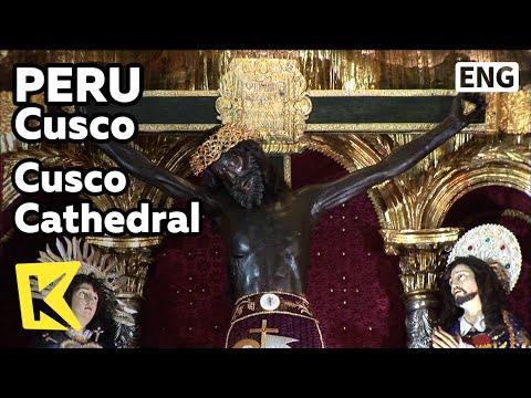 【K】Peru Travel-Cusco[페루 여행-쿠스코]쿠스코 대성당, 갈색 예수상/Cusco Cathedral/Black Christ/Last Supper
