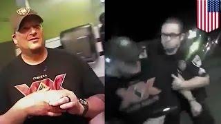 Złodziej wyciąga broń i zostaje momentalnie zastrzelony przez policjanta - nagranie