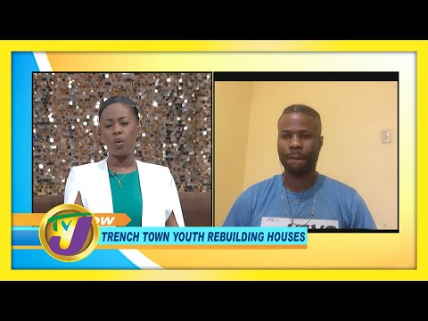 Trench Town Youth Rebuilding Houses   TVJ Smile Jamaica