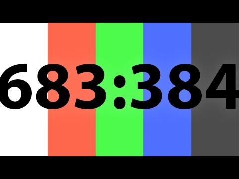 683:384 HD LCD Screen Burn In Fix / Stuck Pixel Fix 10 Hour