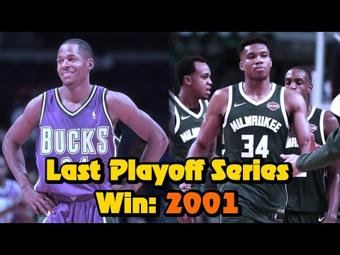 The Milwaukee Bucks Playoff Series Drought