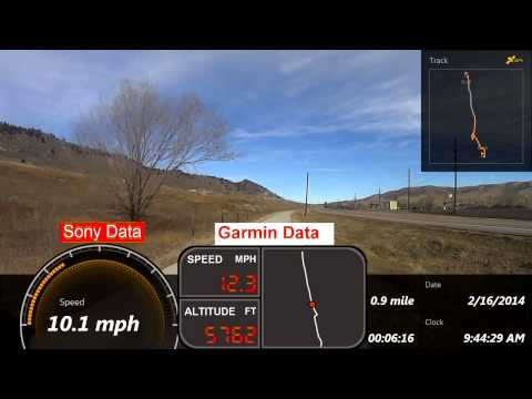 GPS Issue: Sony HDR-AS30V vs. Garmin Edge 510