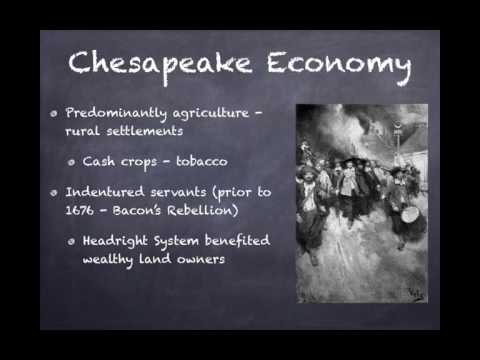 APUSH Review: The Chesapeake Colonies