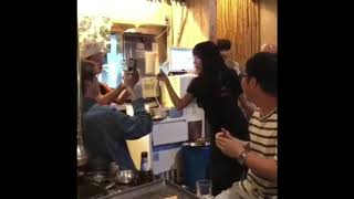 Song Ji Hyo and RM Crew Party at 401 Restaurant