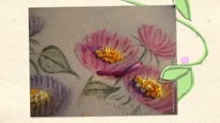 Вышивка лентами картины