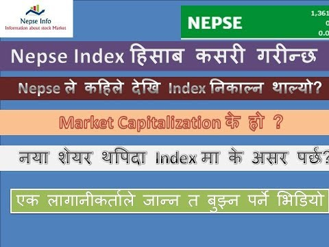 Nepse index Calculating Process